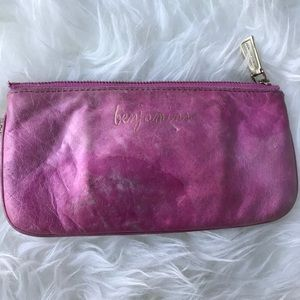 Rebecca Minkoff Pink Benjamin's  Leather Pouch